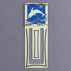Dolphin Engraved Bookmark - Kyle Design