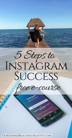 5 Steps to Instagram Success, How to get followers on Instagram, how to use Instagram, guide to Instagram instagram guide, instagram challenge, free course on instagram, free instagram course