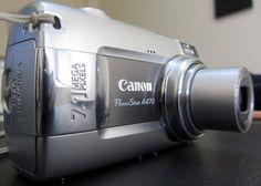 Canon PowerShot A470 7.1 MP Digital Camera - Gray