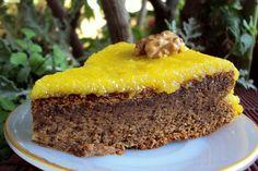 Nárwen's Cuisine: Tarte de Noz Húmida com Cobertura de Doce de Ovos
