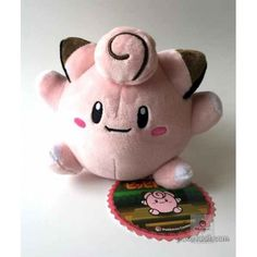 Pokemon Center 2015 Clefairy Secret Base Large Size Pokedoll Series Plush Toy