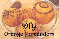 DIY Homemade Christmas Spiced Orange and Clove Pomander Ball Tutorial.  Great sensory activity for fine-motor singer/hand strength, smell, and texture. Oranges, cloves, cinnamon, oh my! Great decoration or gift for Christmas!