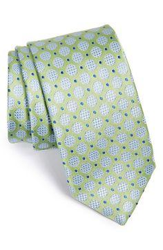 John W. Nordstrom 'Alvarez' Medallion Silk Tie