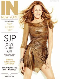 Sarah Jessica Parker covers IN New York magazine January 2014