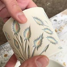First step making the thistle design using @dolantools . Then I take @diamondcoretools to create the sharp prickles (I learned a new word today) You can see the second step of carving the PRICKLES posted on @forestceramicco ! . . . . . #ceramics #valerianceramics #forestceramic #carving #handmadeceramics #porcelain #design #prickles #thistle #piapottersinaction #potsinaction #cremerging #ceramicartist #orcasisland