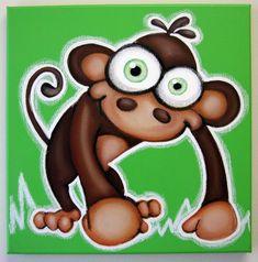 Le singe plus mignon ! Il na pas une banane, il a juste besoin de quelquun pour regarder et sourire 12 « x 12 » avec 1/2 Galerie profil bord