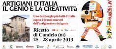 Artigiani d'Italia, il genio e la creatività in uno dei borghi più belli d'Italia