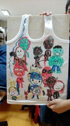 T-shirtPaint childwork #sinif2 Ozel Maya Okullari