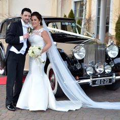 Beautiful wedding couple with 1948 Rolls Royce Sedanca De Ville Wedding Car, Wedding Couples, Wedding Dresses, Rolls Royce Silver Wraith, Dublin, Perfect Wedding, Classic Cars, Stylish, Beautiful