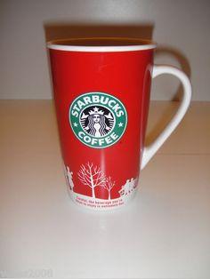 StarBucks Coffee Holiday 2006 Mug Cup 16 fl oz Winter Christmas