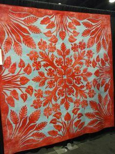 Amazing! 2014 Paducah quilt show  Hawaiian Applique. xxx