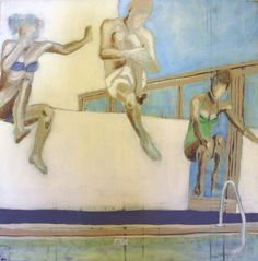 PLASK BY ANNE-BRITT KRISTIANSE  #fineart #art #painting #kunst #maleri #bilde  www.annebrittkristiansen.com/anne-britt-kristiansen-kunst-2012 Paintings, Fine Art, Art, Photo Illustration, Paint, Painting Art, Painting, Visual Arts, Portrait