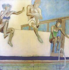 PLASK BY ANNE-BRITT KRISTIANSE  #fineart #art #painting #kunst #maleri #bilde  www.annebrittkristiansen.com/anne-britt-kristiansen-kunst-2012