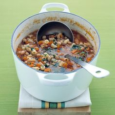This soup is comfort food in the late fall and over a long winter.