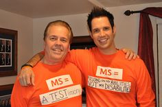 Singer David Osmond & his father Alan Osmond (lead singer of The Osmond's) who are both living w/ Multiple Sclerosis. Multiple Sclerosis Awareness, Osmond Family, The Osmonds, Donny Osmond, Family Boards, Focus On Me, New Opportunities, Working Moms, Weather