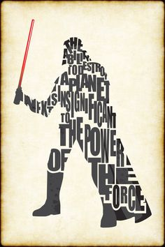 Star Wars: Darth Vader Typography