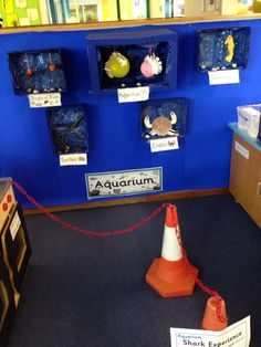 Aquarium role play