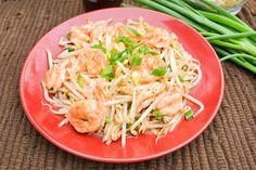 Sautéed Shrimp and Bean Sprouts