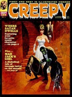 Creepy #39 - Cover by Basil Gogos