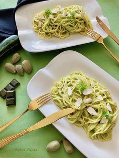 Zucchini and Comté Sauce for Pasta: Diet & Delights - Diet Recipes Pasta Diet, Pesto Pasta, Spaghetti Sauce, Diet Recipes, Zucchini, Sauces, Healthy, Ethnic Recipes, Food