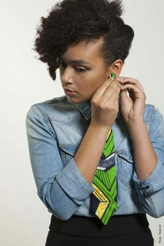 Editor's #Style Picks - Gorgeous #African inspired earrings and ties! #ZenMagazine | http://zenmagazineafrica.com/