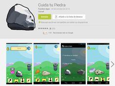 Las mejores apps de Android: Cuida tu piedra.