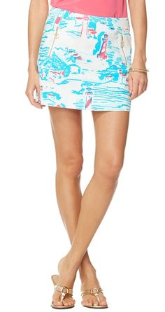 Lilly Pulitzer Tate Skirt in Watch Out