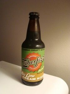 Zuberfizz Key Lime Creme. Had not heard of this one until seeing this picture. Would love to try it.