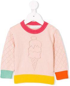 cb8721bac Stella McCartney ice-cream jumper Cream Jumper, Stella Mccartney Kids, Ice  Cream,
