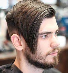 40 Best Side Swept Undercut Hairstyles For Men #undercut #undercuthaircut #undercutfade #mensundercut #disconnectedundercut #undercutmen #undercutdesigns #menshairstyles #menshaircut #menshaircuts Mens Hairstyles Round Face, Hipster Hairstyles, Side Hairstyles, Fringe Hairstyles, Undercut Hairstyles, Hair Undercut, Bangs Hairstyle, Hairstyle Ideas, Undercut Combover