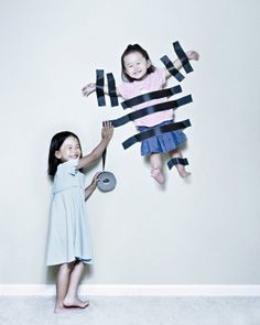 This Dad's Uniquely Awesome Photos of His Kids Made My Cheeks Hurt From Smiling So Much!