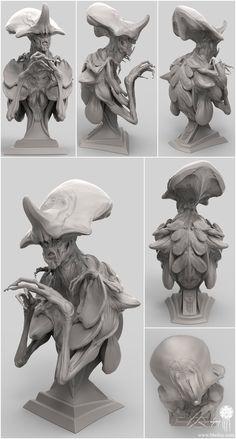 ArtStation - Clover_Bust, Brett Briley (Spark)