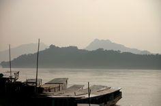 Вид на Меконг / Mekong in Laos #mekong