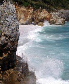 Mylopotamos beach in Magnesia prefecture (Pelion mountain)