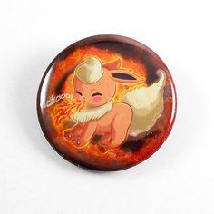 flareon, pokemon, button