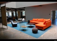 Facebook Office in Menlo Park, more Herman Miller.