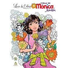 Livro De Colorir Turma Da Monica Jovem