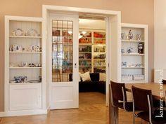 Kamer en suite met helder glas in lood