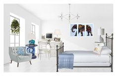 The Elephant in the Room by terry-tlc on Polyvore featuring interior, interiors, interior design, home, home decor, interior decorating, Ethan Allen, Pier 1 Imports, Home Decorators Collection and Pottery Barn