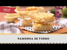 Pamonha me lembra muito minha infância em Carmo do Rio Claro lá e Minas Gerais, onde toda a vizinhança se juntava para descascar, ralar e espremer o milho Cornbread, Muffins, Cheese, Diet, Breakfast, Ethnic Recipes, Brownies, Android, Youtube