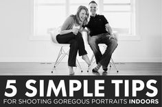 Shooting indoors doesn't have to mean boring images. With a few simple tips you can create gorgeous portraits in practically any indoor space! Check out this post for lots of great info to help you shoot inside!