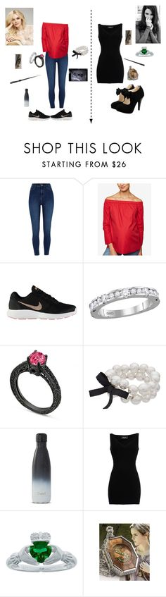 """""""Druella"""" by bellalestrange49 on Polyvore featuring L'Oréal Paris, River Island, Motherhood Maternity, NIKE, Simply Vera and Dsquared2"""