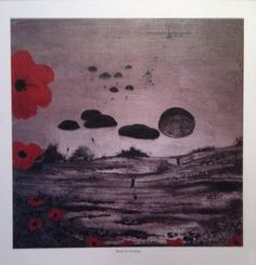 Ready for Anything from the War Poppy Collection by Remembrance Artist Jacqueline Hurley. Texture Board, Royal British Legion, Flanders Field, Lest We Forget, Remembrance Day, Military Art, Hurley, Contemporary Paintings, Poppies