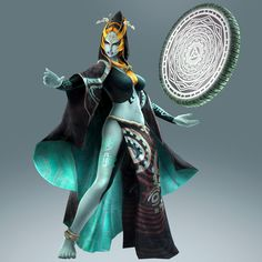 Midna true form become a playable character with #HyruleWarriors Twilight Princess DLC pack - Available Nov. 27th on #WiiU