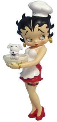 Betty Boop Pictures Archive: Pictures of Chef Betty Boop with Pudgy