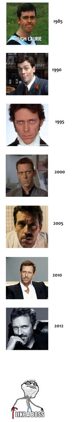 Hugh Laurie  from House