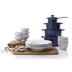 Le Creuset® 5.5 qt. Round Ink French Oven with Lid in Individual Cookware   Crate and Barrel