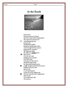 6 multiple-choice questions included with this free-verse poem reading passageANSWER KEY INCLUDED... Teacher Resources, Teacher Pay Teachers, Free Verse Poems, 2nd Grade Reading Worksheets, Reading Passages, Multiple Choice, Teacher Newsletter, Quizzes, Key