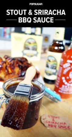 This Barbecue Sauce Gets a Helping Hand From 2 Secret Ingredients: Obsidian Stout & Sriracha!