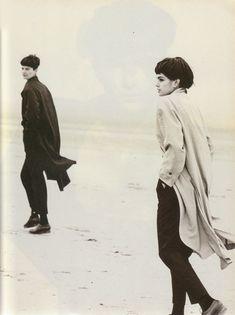 Vogue IT - Maschile - Linda Evangelista - Mar 1988 PETER LINDBERGH